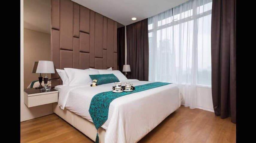 5min to  KLCC   Luxury apartment