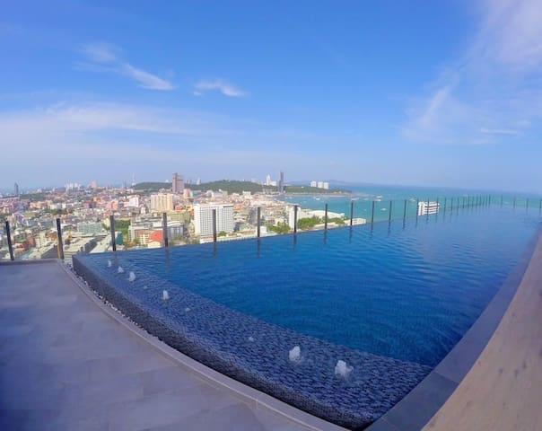 The Base Pattaya. Best location, roof top pool #5