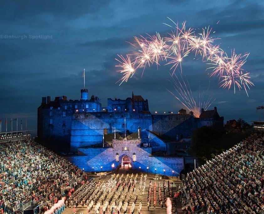 A visit to Edinburgh Castle is a must!