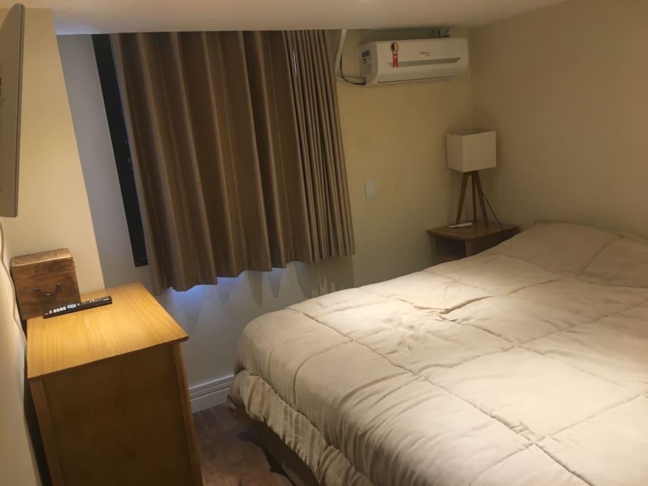 Quarto cama king size