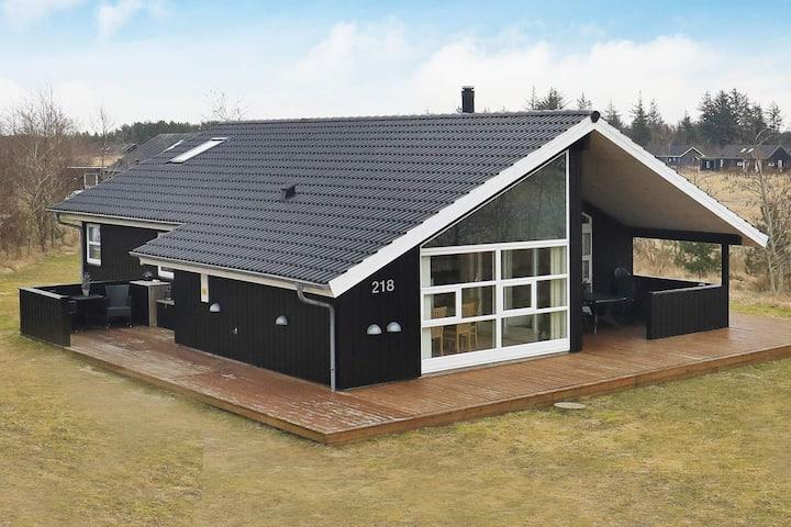 Lussuosa casa vacanze a Brovst Jutland con sauna
