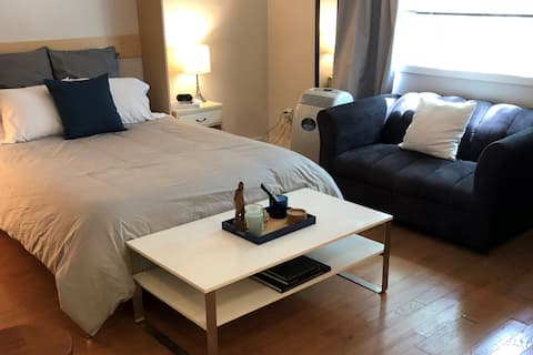 Comfy Downtown Studio Unit in Winnipeg