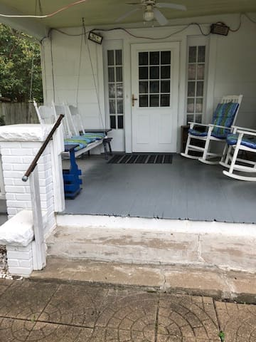 Front Porch and Two Steps