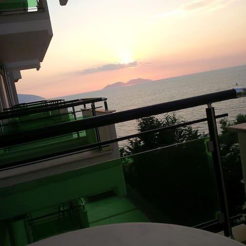 Apartment in Vlora with sea view - Vlorë - Departamento