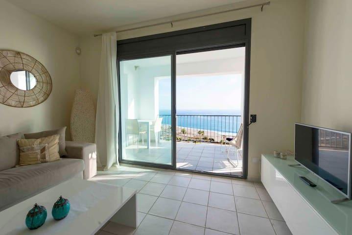 Modern flat Mojacar 180° sea views! - Mojácar - Wohnung