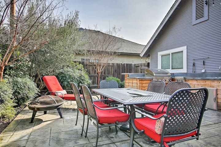 NEW! Modern Home with BBQ Area & Walk to Downtown!