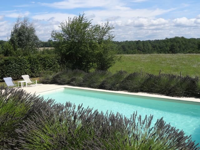 Pretty cottage - own private pool - Montcabrier - Casa