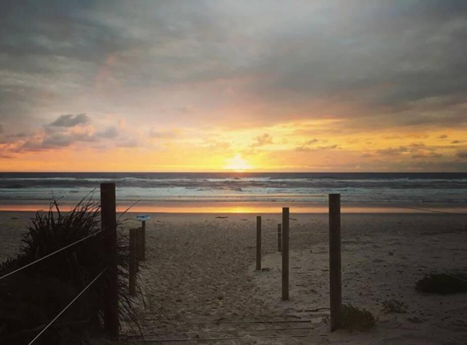 South golden beach- 5 min drive away