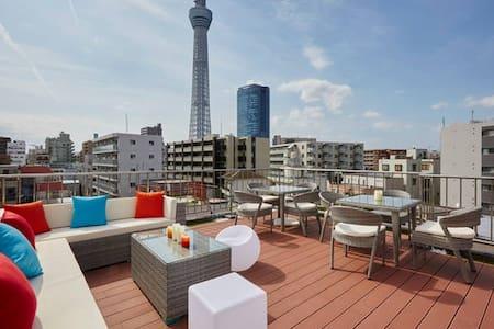 Tokyo skytree house #202 ☆open sale☆ - Sumida-ku - Wohnung