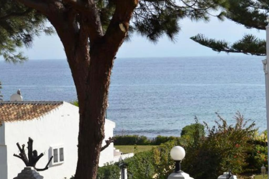 Direkte udsigt til Middelhavet