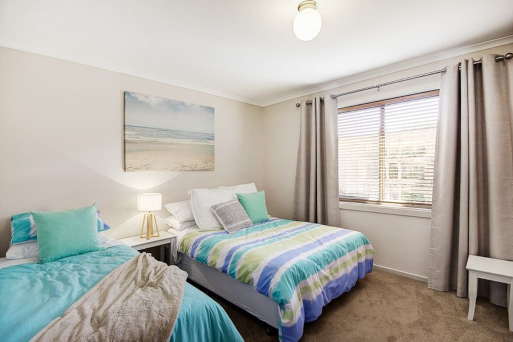 Second bedroom, double and single beds