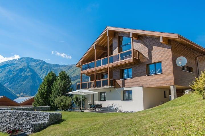 CHALET SWISS   -   sunplace Grächen / near Zermatt