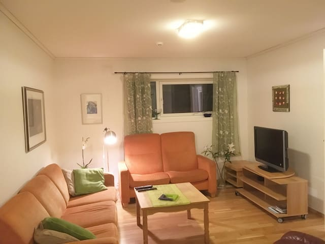 Separate apartment in private house.