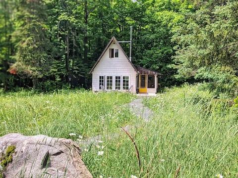Ahki House: off-grid tiny cabin