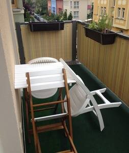54qm apartm w bath tub & balcony - Jena - Apartment