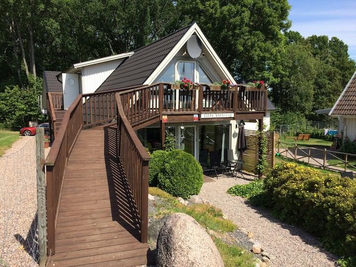Lilla Vättervy, Munkaskog