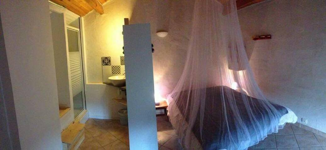 Chambre folelli 1km de la mer - Penta-di-Casinca - Rumah