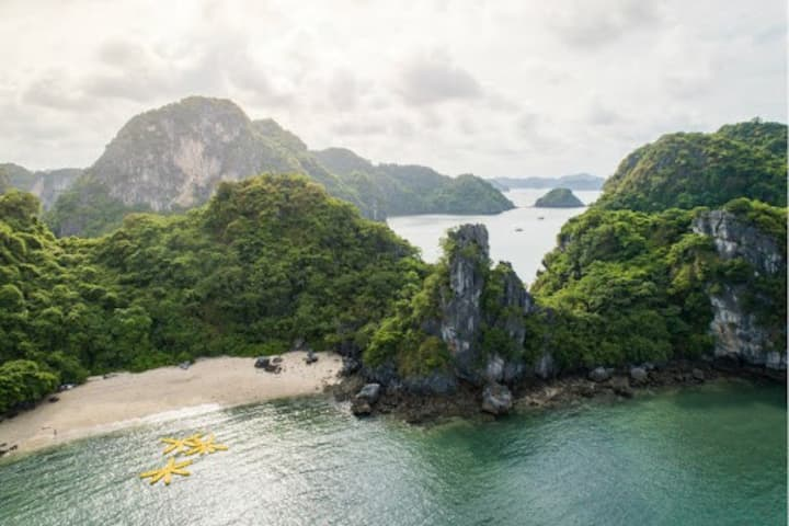 1-night Halong & Bai Tu Long Bay Cruise Trip