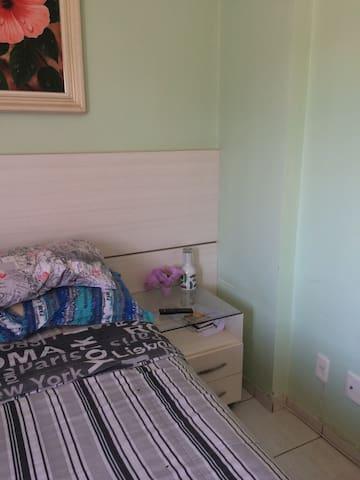 Quarto Individual e confortável em Águas Claras. - Brasilia - Apartmen