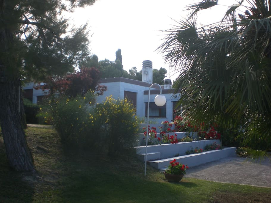 Parco e parte della villa