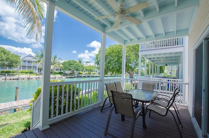 3BR Village at Hawks Cay & Your Own 32' Boat Dock