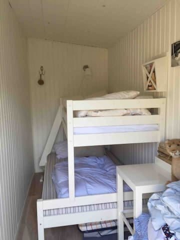 Guest room with bunk beds