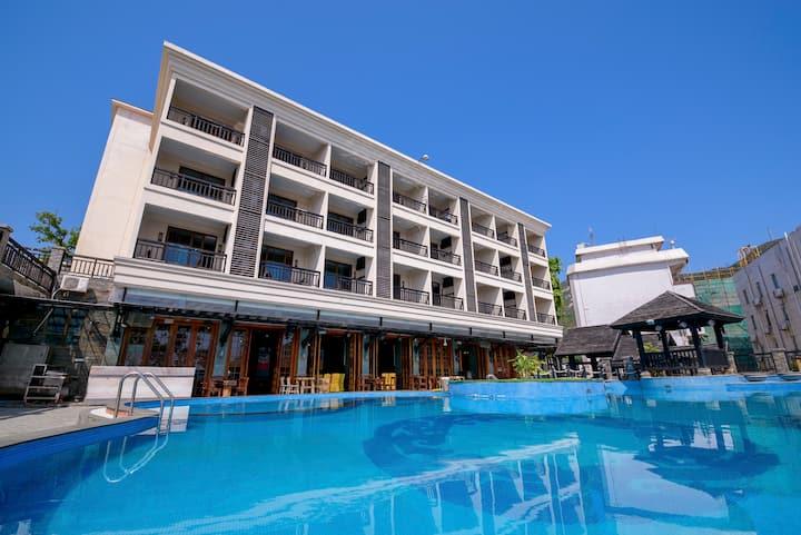 珠海外伶仃岛海馨·悠活渡假酒店--最美豪华园景房