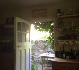 Spacious attic retreat in artist's house