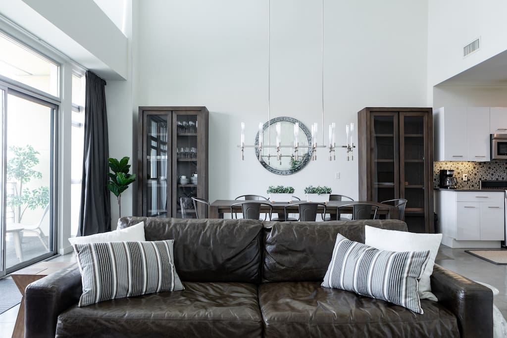 Restoration Hardware furnishings