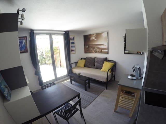 espace à vivre -cuisine salon (suite)