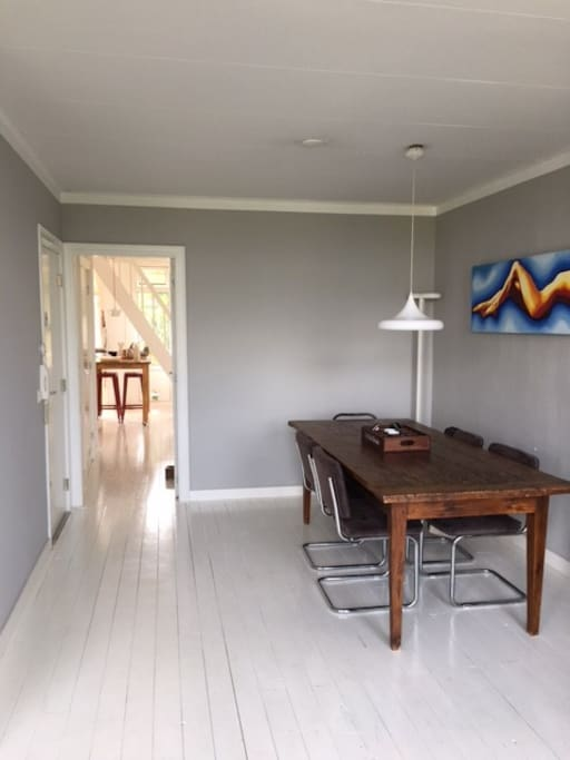 Dining/ living room area