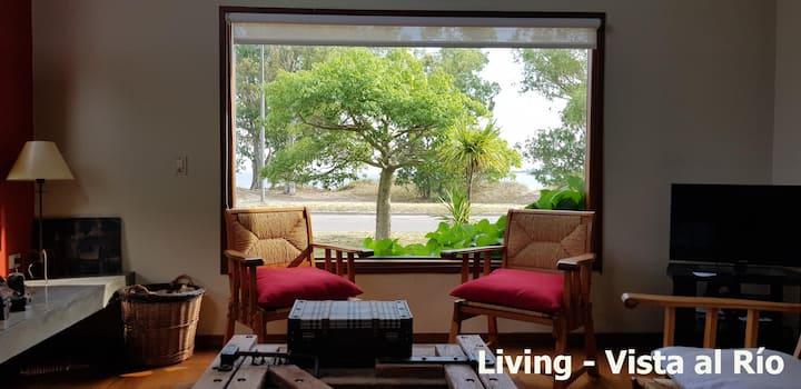 La Madriguera  - Soñada casa frente al río y playa