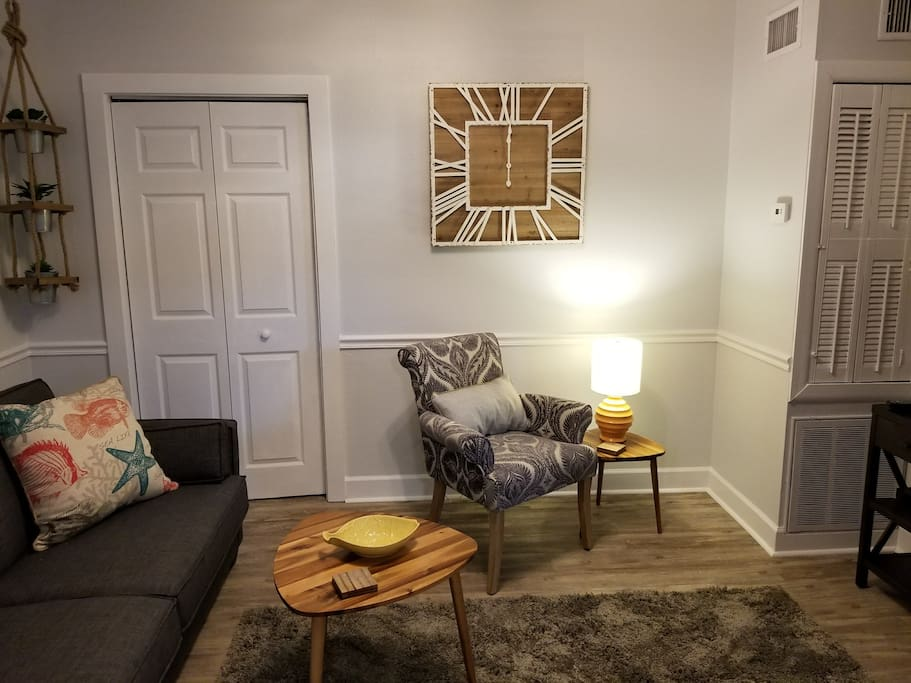 Welcoming living room