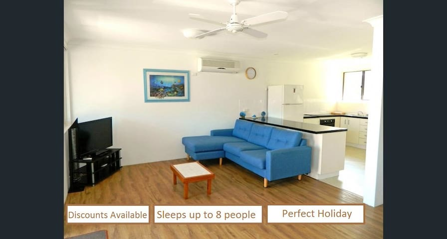 Wallisview 26 - Forster - Opposite the Lake - Forster - Apartament