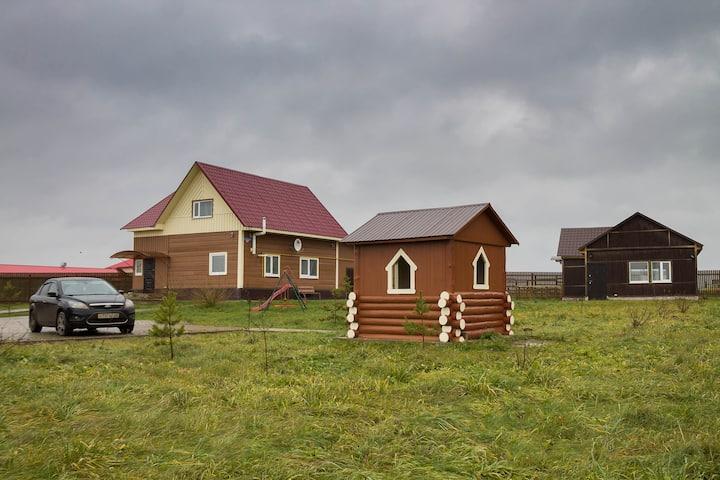 """Гостевой дом кск""""возрождение"""", с сауной и бильярд."""