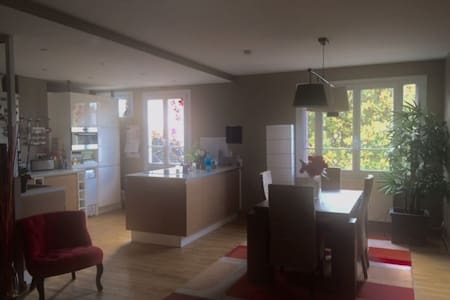 3 bedrooms, city center, 25' from Paris, quiet - Rueil-Malmaison - Huoneisto