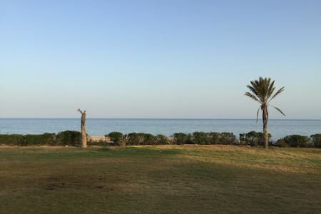 Vacation house with direct access to the beach - Al maamoura - Villa