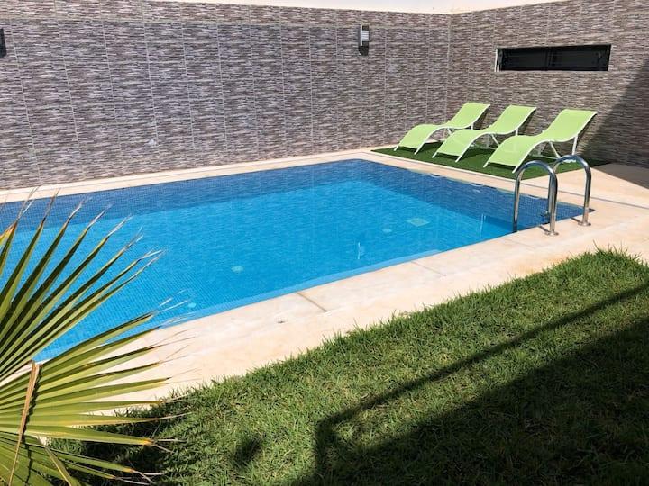 Villa NOUR avec Piscine Privée sans Vis à Vis