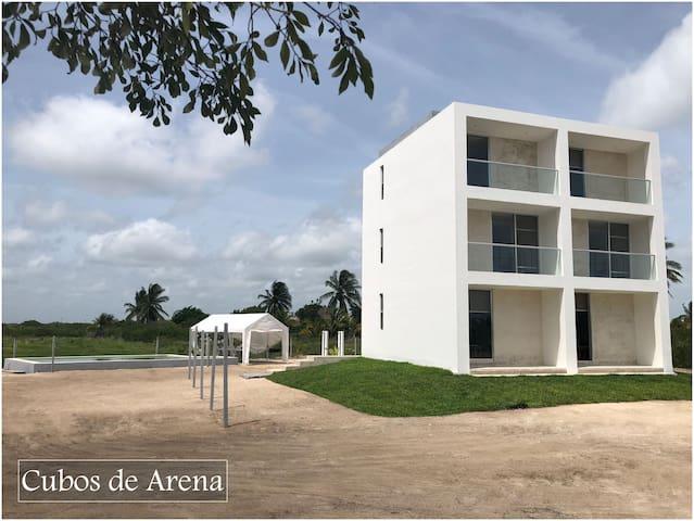 Cubos de Arena  Telchac Puerto Yucatán México