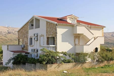 Studio flat with balcony and sea view Pag (AS-9410-b) - Pag