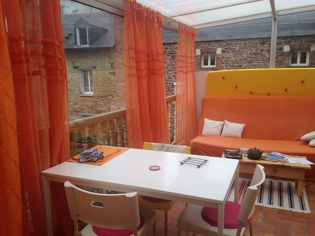 Appartement au sein de la ville de Rennes - レンヌ - アパート