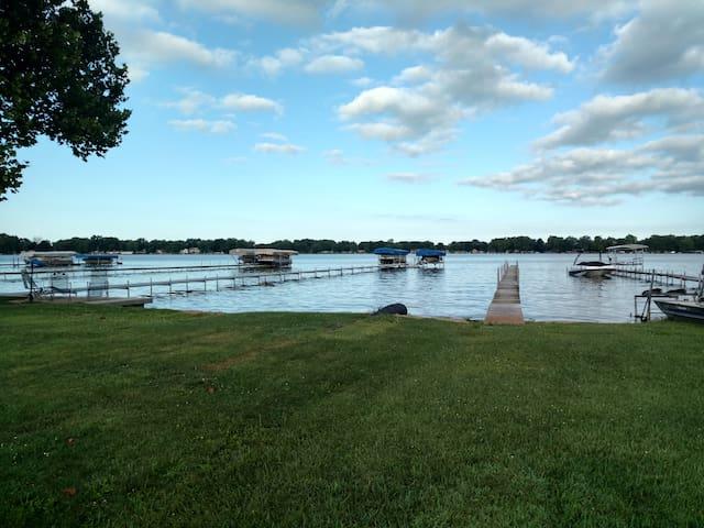 Beautiful lake access.