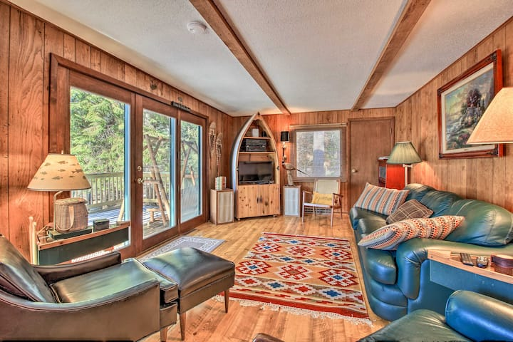 Waterfront Pet-Friendly Whitefish Lake Home w/Dock
