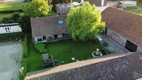 landelijke B&B tussen Knokke, Gent en Brugge