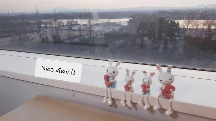 《정발산역 3분》호수공원/Lafesta 《주차장 이용 불가 !!》체크아웃 12 pm