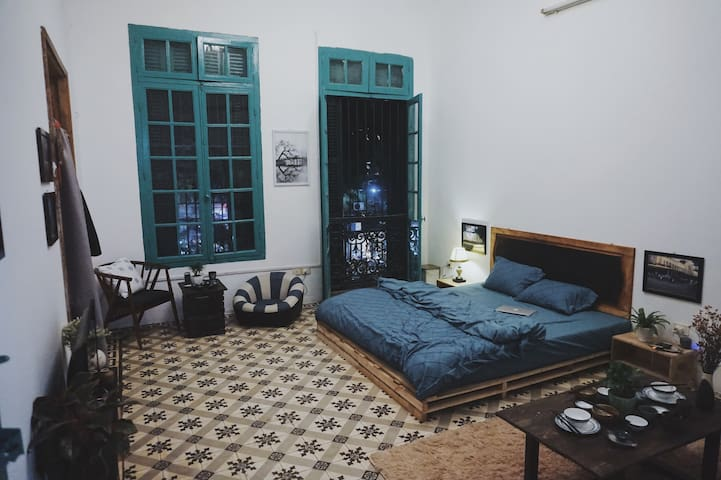 French Colonial Apartment in centre of Hanoi
