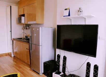 BTS Udomsuk-IdeoBlucove Condo - Apartment