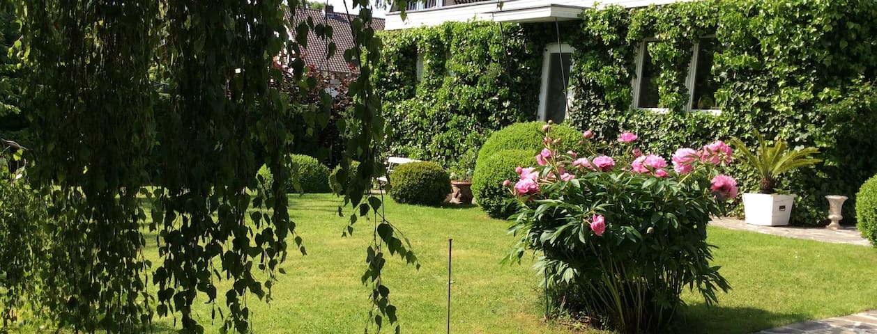 Romantic bungalow in the garden for your own