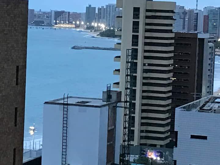 Beira Mar Studio Praia Iracema Vista Mar Piscinas