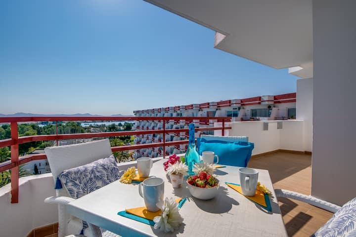 ☼ Ximba, Stylish studio  with Seaview!